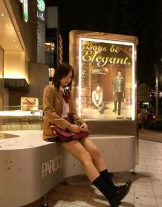 schoolgirl short skit 001