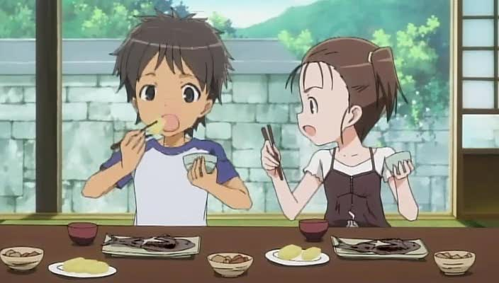 Anime little brother and sister