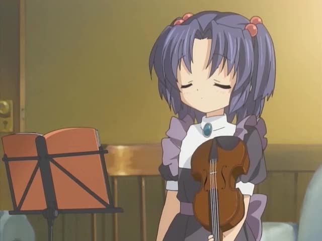 Clannad 13, welcome to Kotomi's dark world. | Crystal ...