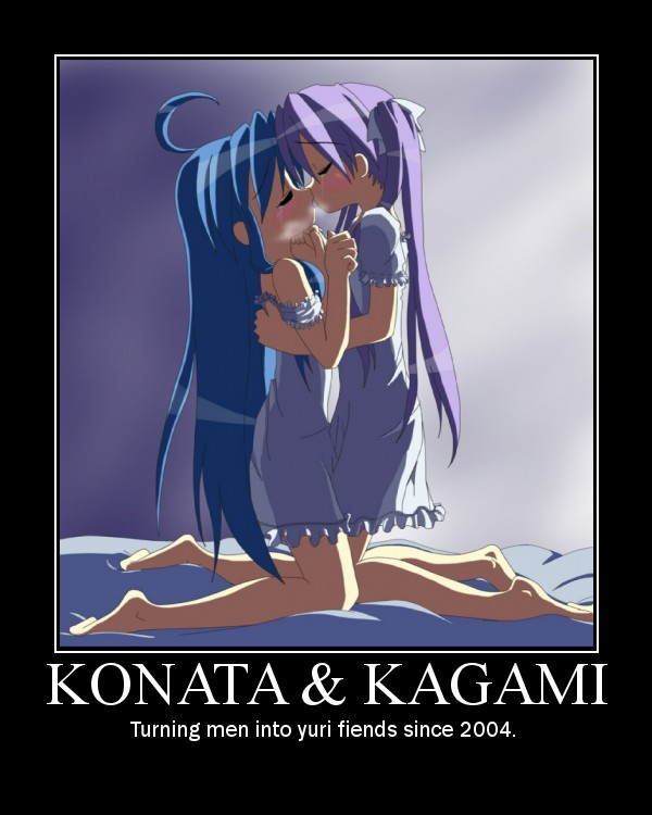 Photo Gallery of Absolute Randomness - Page 10 Konata-and-kagami-motivator