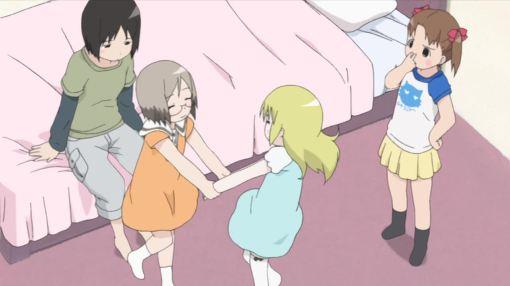 ana-and-matsuri-dancing-around