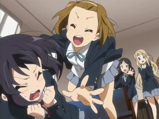 Ritsu is very overjoyed