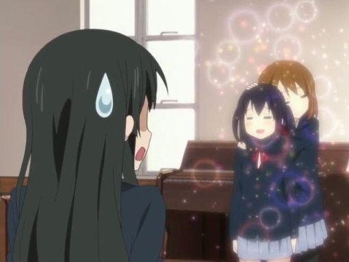Yui's affect on Azusa