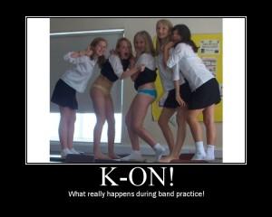 K-On! band practice motivator
