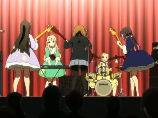 the K-On! jam session