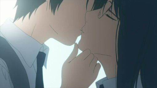 Fumi and Yasuko's kiss