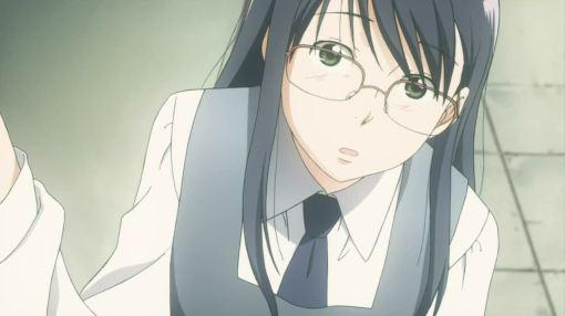 Fumi looking at Kyoko