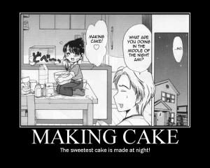 Making Cake Motivator