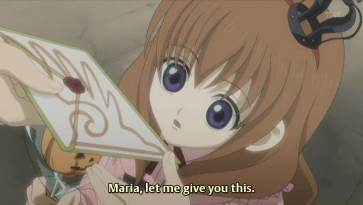 001 a letter for you, Maria 001 the letter