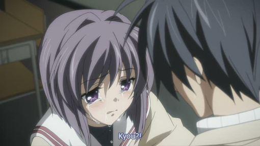 its Kyou looking like Ryou