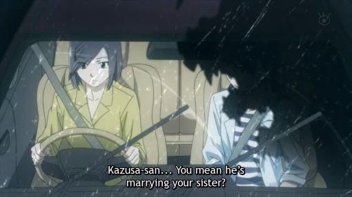 Kagami is with Kazusa