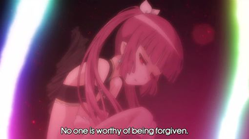 no one is worthy of being forgiven