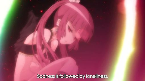 only sadness and loneliness awaits you