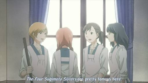 the four sister are pretty famous