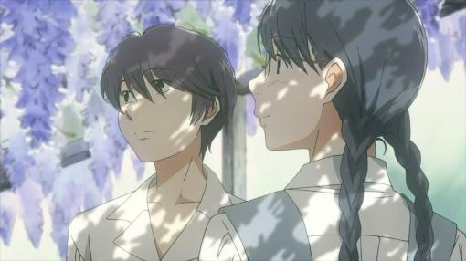 Yasuko's and Fumi's chance meeting
