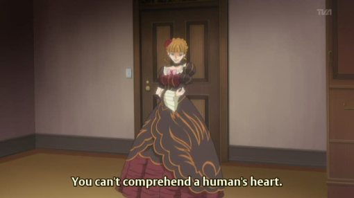 you can understand a human heart