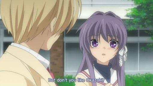 you like Tomoya don't you