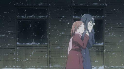 Akira comforting Fumi again
