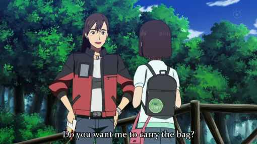 do you want me to carry that bag