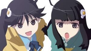 Karen and Tsukihi Araragi