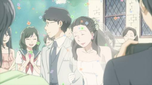 the wedding walk