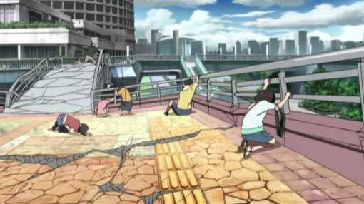 Tokyo being destroyed