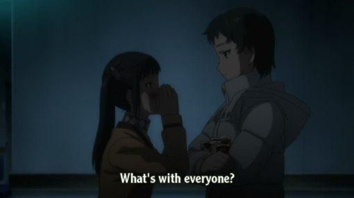 Haruka meeting Mana