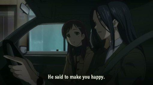 He said to make you happy