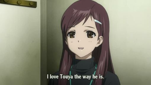 I love Touya the way he is