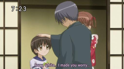 I'm sorry Ichita