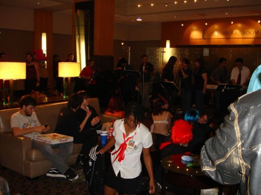 lounge area Youmacon 2009
