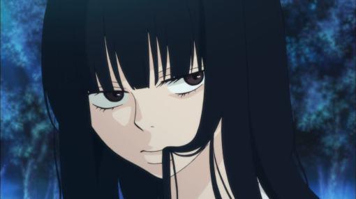 Sawako scaring Kazehaya