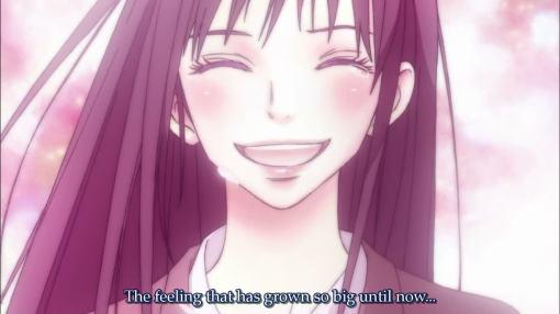 Sawako smiling