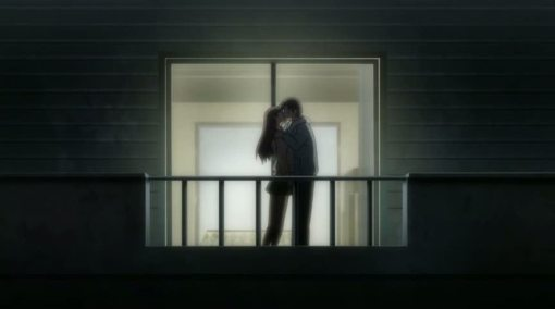 Touya kissing Yuki