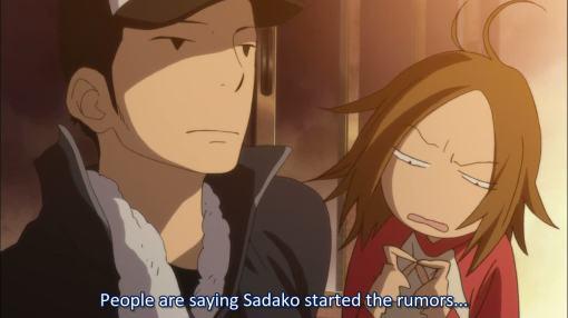 did Sadako start those rumors