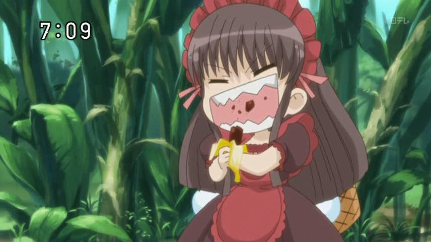 تقرير عن انمي صانعة الحلوى Yumeiro Patissiere Chocolate-bananas