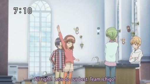 انمي الحلويات  Go-team-ichigo