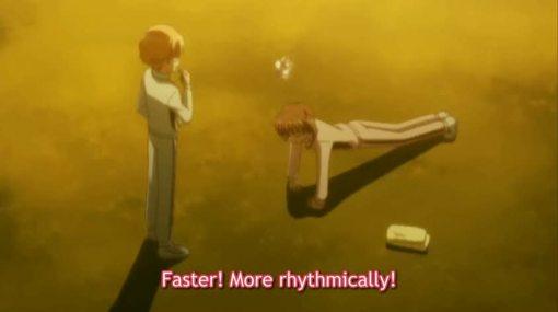 انمي الحلويات  Ichigo-working-out